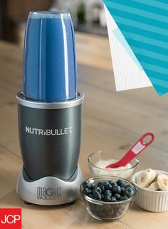 Keep your Frozen fan's lips blue with a yummy blueberry smoothie that would make even Elsa proud. Just combine these ingredients in any Nutribullet® blender and let it go! 1 cup blueberries (frozen or fresh) 1 (8 ounce) container plain yogurt 3/4 cup 2% reduced-fat milk 2 tablespoons white sugar 1/2 teaspoon vanilla extract 1/8 teaspoon ground nutmeg