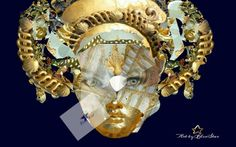 Art of BlueStar - Barock IV. - Fotocollage, 30 x 45 cm
