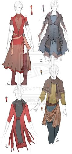 Outfit+adopt+set+-+Closed+by+Sellenin.deviantart.com+on+@DeviantArt