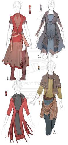 Outfit+adopt+set+-+Closed+by+Sellenin.deviantart.com+on+@DeviantArt