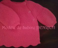 Baby Patterns, Knitting Patterns, Tricot Baby, Knit Vest, Pinterest Blog, Roses, Sweaters, Bonnets, Fashion