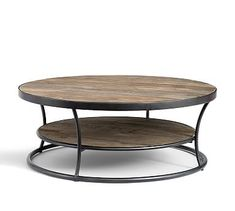 Bartlett Reclaimed Wood Coffee Table #potterybarn love this table but wish it was a little cheaper...