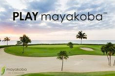 The PGA TOUR pro's had their time here, but now it is your turn to #PLAYmayakoba at the  Mayakoba Golf Course, El Camaleón!