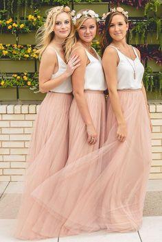 282317627cf4 49 Best Beach bridesmaid dresses images