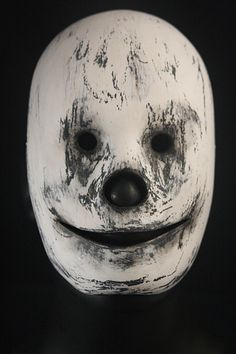 "Handcrafted Unisex Mask ""Sneer"" Unique Mask Design made with Papier Mâché and passion, styling, Special Occasion, Collectible, creepy Mask"