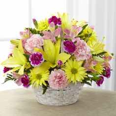 Basket Of Cheer® Bouquet