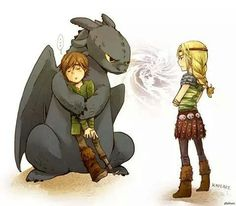 How to train your dragon ❤