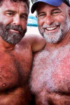 Beards, mustaches, hairy, older men, and foreskin. Hot Dads, Muscle Bear, Daddy Bear, Bear Men, Mature Men, Hairy Chest, Older Men, Man In Love, Hairy Men
