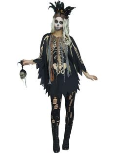 Luxury Diy Voodoo Witch Costume
