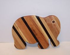 Elephant Cutting Board handcrafted from Mixed by tomroche on Etsy, $18.00