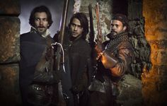 bbc musketeers queen anne   ... Artagnan & Howard Charles as Porthos in The Musketeers episode one