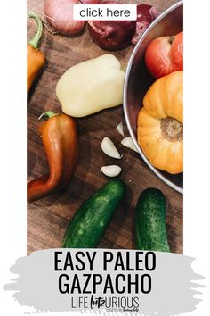 Click here to learn how to make easy paleo gazpacho on Life Lutzurious! Paleo recipes dinner clean eating gluten free. Easy gazpacho recipe summer. Paleo lunch on the go meal prep easy recipes. Easy gazpacho recipe gluten free. Paleo recipes for beginners get started. Paleo recipes lunch meal prep. Paleo recipes easy for beginners clean eating. Gazpacho recipe chunky. Easy gazpacho recipe healthy. Easy gazpacho recipe soups. Easy gazpacho recipe tomatoes. #veggies #health #paleo Lunch Recipes, Recipes Dinner, Healthy Recipes, Dairy Free Recipes Easy, Gluten Free, Easy Weeknight Dinners, Easy Meals, Gazpacho Recipe, Large Family Meals