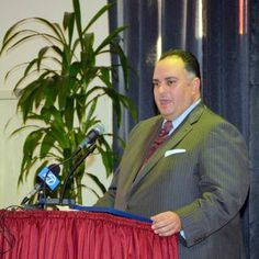 California State Assembly Speaker John Perez delivers words at the MLK2014 Labor and Community Breakfast.