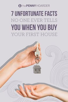 First-time homebuyer? You're in for some surprises. Here are seven things no one tells you about buying a house. (#4 is the worst…) - /thepennyhoarder/