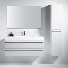 Shop Golden Elite Sofia Vanity at Lowe's Canada. Find our selection of bathroom vanities at the lowest price guaranteed with price match. Loft Bathroom, Bathroom Renos, Bathroom Furniture, Master Bathroom, Bathrooms, Modern Bathroom Design, Bathroom Interior Design, Bath Vanities, Bathroom Sink Faucets