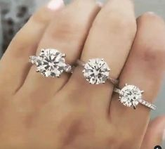 Sparkling ✨ diamonds 💎 in 3,4,5 carats engagement rings, Natural Diamonds that origins from South Africa 🇿🇦 Round Diamond Engagement Rings, Engagement Ring Styles, Diamond Rings, Natural Diamonds, Round Diamonds, Fashion Rings, Halo, Vintage Inspired, Origins