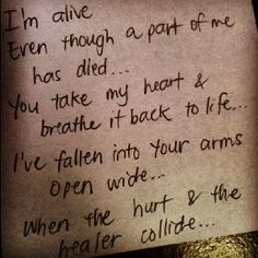 The Hurt and The Healer, Mercy Me