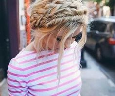 #braidcrown #braids #hairtrends