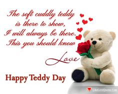 I Will Always Be There – Happy Teddy Day.