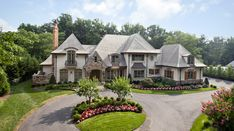 French Country Mansions | this french country style mansion is located at 7224 arrowood road in ...