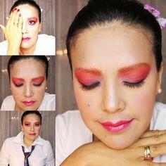 Maquillaje de Verano De tonos Rosa *****Sommer Make Up  Rosa Töne