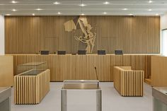 Gallery of New Law Courts / Baumschlager Eberle Architectes + Atelier Pierre…