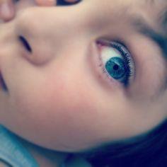 Sister's eye My Photos, Sisters, Eyes, Face, The Face, Faces, Cat Eyes, Facial