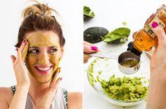 20 Homemade Masks for a DIY Facial via Brit + Co