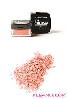 Airy Minerals Loose Powder Blush-Peach
