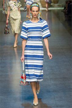 Dolce & Gabbana S/S2013, Milan Fashion Week
