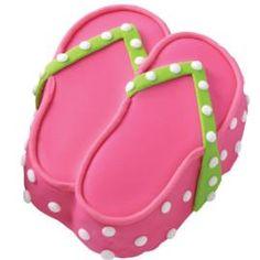 Flip-Flop Mini-Cakes