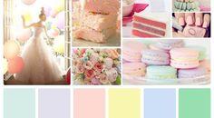 Resultado de imagem para paleta tons pastel