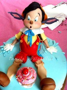 Cake Pinocchio by Pamela (8/26/2012)  View cake details here: http://cakesdecor.com/cakes/26576