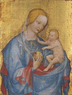 Virgin and Child / La Virgen María y el Niños Jesús // 1st quarter of the 15th century // Master of the Benedictine Madonna // Alte Pinakothek München