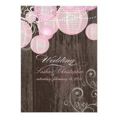 PixDezines pink lanterns/wood panels