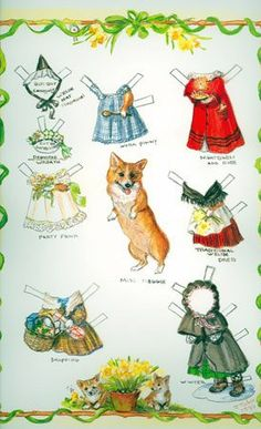 Miss Meggie Paper Dolls By Tasha Tudor [1991] Jenny Wren Press http://www.amazon.com/dp/B0093B30EU/ref=cm_sw_r_pi_dp_qCYbub099WEHC