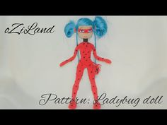 Aаmigurumi doll / Ladybug toy / Crochet toy / Handmade toy / Lady toy / Eco toy - YouTube