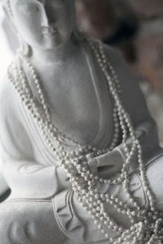 #Buddha with #mala.