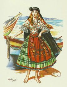 by gracinhaviterbo_head_couture Portuguese Empire, Portuguese Culture, Traditional Mexican Dress, Traditional Dresses, History Of Portugal, New Fashion, Vintage Fashion, Brisbane, Costumes Around The World