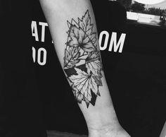 Maple Leaf Tattoo by sengseng_redbuddha