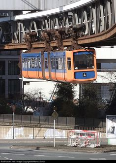 RailPictures.Net Photo: 1 Wuppertal Suspension Railway WSW Unknown at Wuppertal, Germany by Markus Gmür
