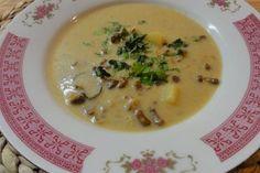 Jak uvařit houbovou krémovou polévku | recept