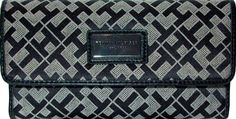 Tommy Hilfiger Womens Wallet  Black  Tan >>> Find out more about the great product at the image link.
