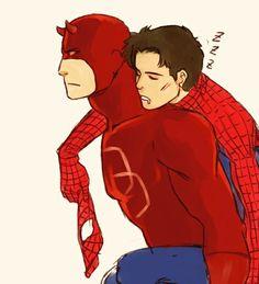 Spideydevil Spider-Man x Daredevil