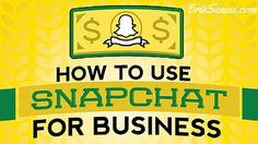snapchat business