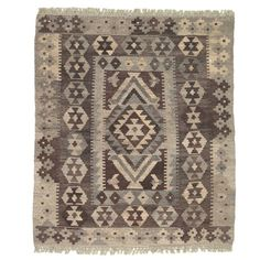 """I pinned this Homa Kilim Veggie 3'9"""" x 3'3"""" Rug from the Loominary event at Joss and Main!"""
