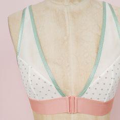 Maris Bralette Sewing Pattern by Madalynne Intimates + Lingerie