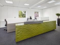 Theke, Empfangsbereich, Eingangsbereich, grün, Pflanzen, Teppichboden