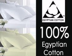 Hotel Quality 400 Thread Pair Oxford OR  H/W Pillow Cases 100% Egyptian Cotton
