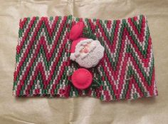 Ho Ho Ho Cuff Bracelet by MCBDdesigns on Etsy This is one of the cuffs I have made and am selling at my Etsy shop!